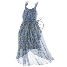 D-Signed Girls' Dress -  Allure Blue