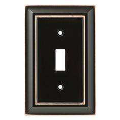 Lowes Wall Plates Awesome Lowes $697 Allen Roth 1Gang Oil Rubbed Bronze Standard Toggle