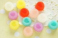 12 pcs Jelly Cabochon 18mm CD614 by misssapporo on Etsy