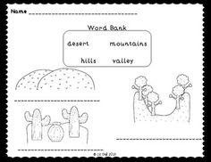 13 Best landforms & regions {kindergarten} images