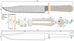Чертежи ножей для изготовления: часть 3 | LastDay Club image 78