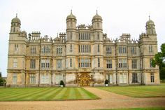 Burghley House, the home of Lord Burghley.  It was his home in Stamford away from the court of Queen Elizabeth I.  It took 32 years to build it!