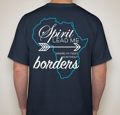 Help raise money for ministries in Uganda when you buy this tshirt!