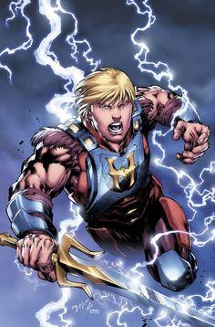DC Comics Reveals HE-MAN'S Unneeded New Look