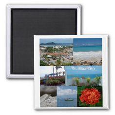 #Sint Maarten - Saint Martin magnet sold in Michigan!