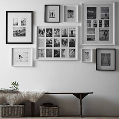 Gallery wall inspiration: black and white prints, frame, decor. Are you looking for unique and beautiful art photo prints (not the featured in this pin) to curate your gallery walls? Visit bx3foto.etsy.com and follow us on Instagram @bx3foto