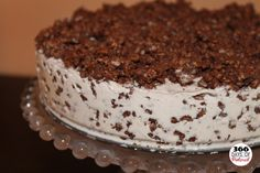 Nutella Ice Cream Cake - Only 3 ingredients!