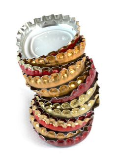 How to Reuse and Recycle Metal Bottle Caps - some fun ideas