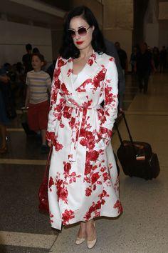 Dita Von Teese - Best Dressed Celebrities this Week: 6 July | Harper's Bazaar