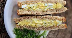 7 gyors és egészséges házi készítésű szendvicskrém recept Krispie Treats, Rice Krispies, Feta, Sandwiches, Vegetables, Desserts, Recipes, Finger Food, Tailgate Desserts