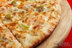 Receita de Pizza portuguesa em receitas de salgados, veja essa e outras receitas aqui!