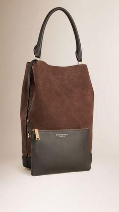 The Bucket Bag in Suede