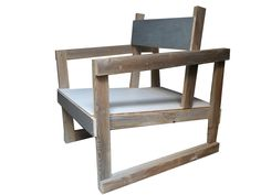 I love how this chair reminds me of university when I made one similar for first year, my addition included recycled car tyres.