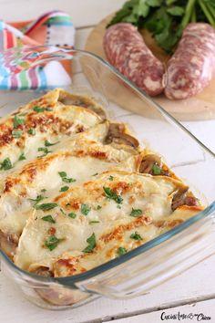 CRESPELLE DEL MONTANARO ricche di gusto La ricetta con le foto passo passo #ricetta #food #crespelle