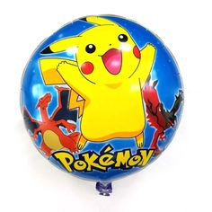 18$  Buy here - http://www.goodshopping.top/redirect/product/os7kwd3e8e8pp1lhxj69gfex60npcmun/32737568491/en - Lucky 50pcs/lot 18 inch Blue Pikachu Pokemon Balloon Party Wedding Decoration Globos PokeBalls Foil Helium Balloons Classic Toys   #bestbuy