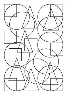 ID en vrac autour de l'éducation bienveillante: Formes géométriques