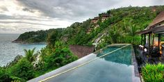 Villa Yang - Phuket, Thailand. Stunning colors throughout the entire house.