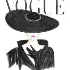 Resultado de imagen para french fashion illustrations vogue