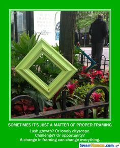 When it comes to recovery, framing is everything. That's why an outside perspective helps.