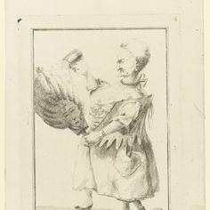 Lady Drudger, Matthew Darly, 1772 - Rijksmuseum