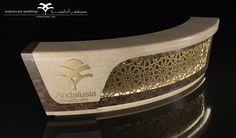 """Check out this @Behance project: """"Reception Counter - Andalusia"""" https://www.behance.net/gallery/30977365/Reception-Counter-Andalusia"""