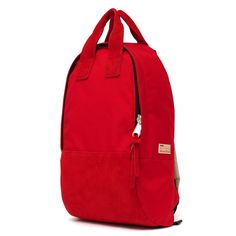 Buddy Ear Tote Backpack Long Rouge | buddy make happy made in Japan