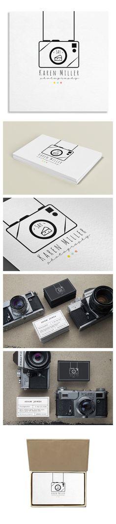 83 Oranges Design Co.   Logo Template for Photographer