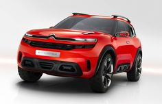citroen aircross concept car  revealed at the 2015 shanghai motor show, the creative and bold citroen 'aircross' concept car illustrates the brand's new international ambitions and different design direction. whilst respecting SUV essentials, the automobile blends power and positive energy, and creates a protective and welcoming appearance.