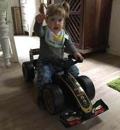 Silje i Lotus Formel 1 Team