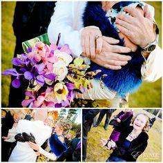 Breckinridge Colorado Wedding Colorful Ceremony #Breckinridge #Coloradowedding Aloft at V3 Ranch Wedding - Elevate Photography #mountainwedding #colorfulwedding #wedding #bride #groom
