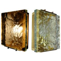 Extraordinary pair of Max Ingrand - Fontana Arte sconces # 2311 | From a unique collection of antique and modern wall lights and sconces at http://www.1stdibs.com/furniture/lighting/sconces-wall-lights/