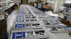 All-in-one Integrated Solar LED Street Light   HITECHLED : 30W HT-SS-6030 IN PRODUCTION ---MALAWI PROJECT