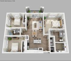 Tips Untuk Desain Rumah 3 Kamar Yang Nyaman