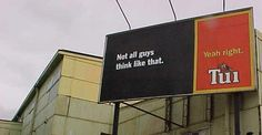 tui yeah right billboards - Google Search
