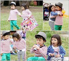 Chu Sa Rang on a date with boyfriend Yooto - so cute ^_^ Superman Cast, Superman Kids, Korean Variety Shows, Korean Shows, Fashionista Kids, Lee Bo Young, Yoo Ah In, Baby Grows, Little Star