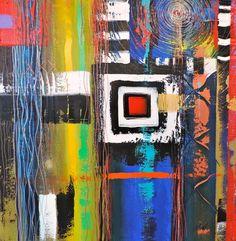 Living Color 40 X 40 https://www.facebook.com/pages/Art-of-Murf/250767048299038?ref=hl http://pinterest.com/artofmurf/ https://twitter.com/artofmurf