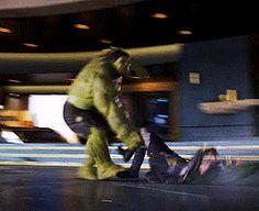 the hulk vs loki - Google Search