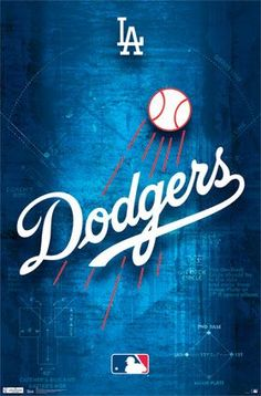 Los Angeles Dodgers - Logo 2011 | MLB | Sports | Hardboards | Wall Decor | Pictures Frames and More | Winnipeg | Manitoba | MB | Canada