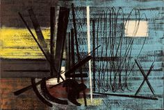T1949-10 by Hans Hartung