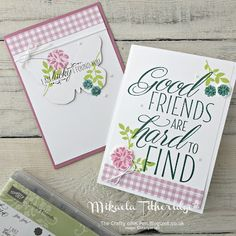 The Crafty oINK Pen: Stamping Sunday Blog Hop - Lovely Friends Lovely Laurel Thinlits, Succulent Garden DSP, Bold Butterfly Thinlit, Sweet Sugarplum, with Lemon Lime Twist and Tranquil Tide