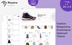Royara - Fashion Multistore Store OpenCart Template #87488