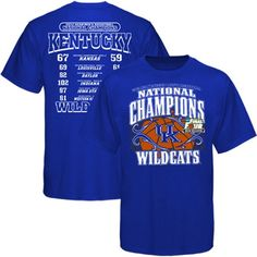 Mens UK Wildcats Champs T-Shirt