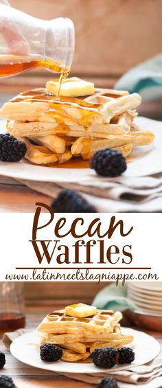 These tasty Pecan Wa