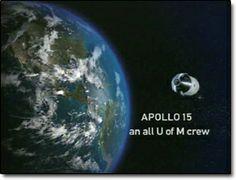 Apollo 15 - an ALL Michigan crew!!!