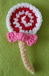 Lollipop Brooch by Twinkie Chan