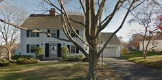 Trumbull, Connecticut, Bridgeport area. The house that inspired the book by Eric Hodgins is located at 240 Indian Trail Road in New Milford, Connecticut. Original building budget $11,000, final cost $56,000. In 1939 dollars. Hodgins was forced to sell the house in 1945 for $38,000. He tried to buy it back with money from the sale of the book to RKO but the owner wasn't interested in selling.