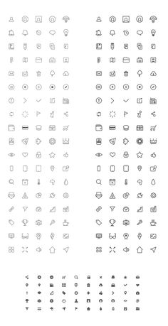 Free mix wireframe icons // Lepix.org – Design Resources + Inspiration