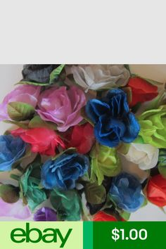 Artificial Silk Flowers Crafts Ebay Products Pinterest