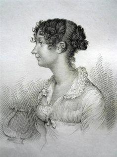 1816 Regency Actress Miss Nash of Bath Theatre Fine Portrait   eBay