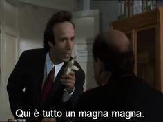 """nonsosemirendoconto:  """"needforcolorbis:  """"""""Johnny Stecchino"""" (Roberto Benigni, 1991)  """"  …e con questa chiudo. Che è meglio.  """""""